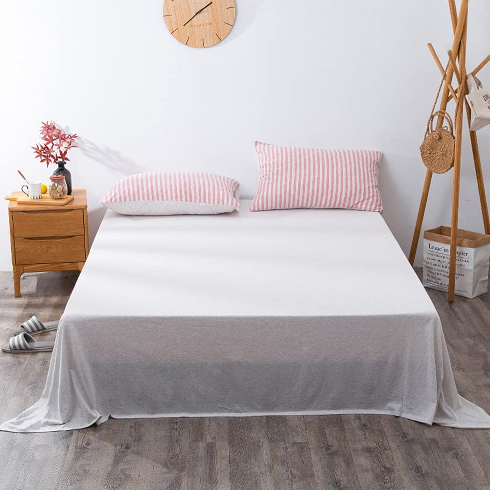 vctops 1-Piece 100% Cotton Flat 1 year warranty Bed Mail order cheap Sheet Size B Ultra Full Soft