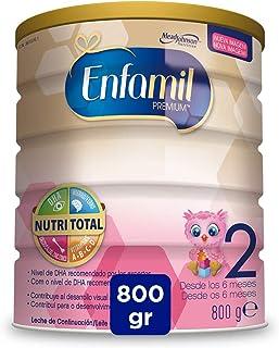 comprar comparacion Enfamil Premium 2 - Leche infantil de Continuacion para Lactantes bebés de 6 a 12 Meses, 800 g
