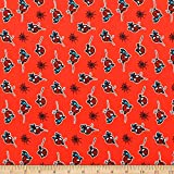 EUGENE TEXTILE CENTER 0673886 Marvel Spiderman Flannel Red
