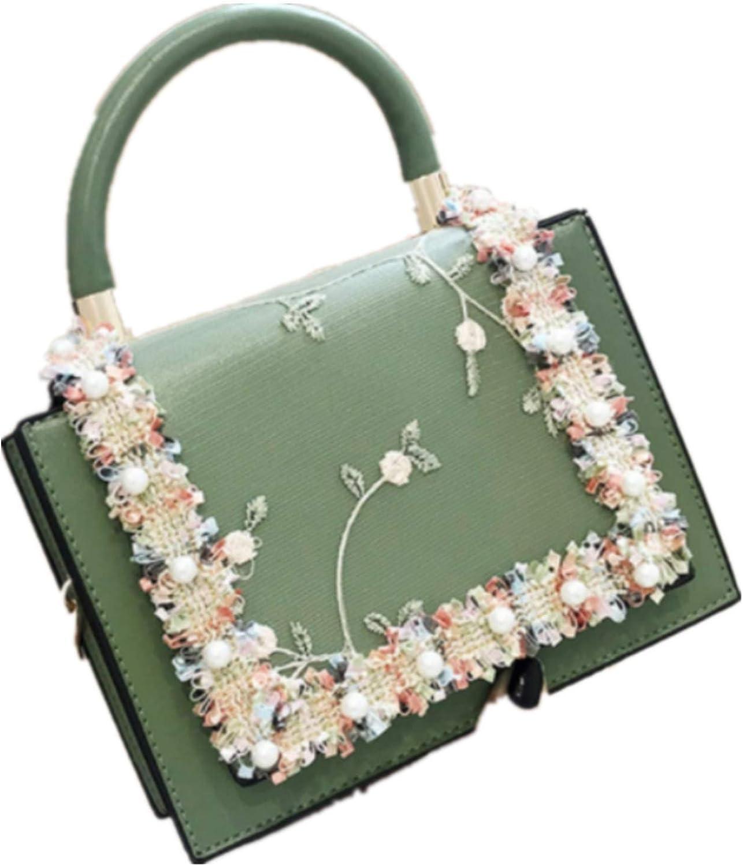 Vintage Flower Lace Handbags Women's Crossbody Bags 2021 Fashion Gold Chain Ladies Messenger Bag Evening Clutch Female Purses