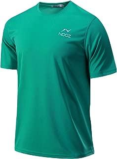 Nooz Men's Performance Quick-Dry Training Crew Neck Short-Sleeve T-Shirt