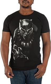 Black Panther Character Men's Black Package Tee