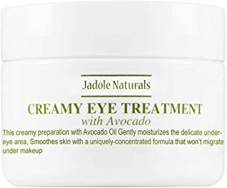 Jadole Naturals Eye Treatment Cream with Avacado, 30g, Pack of 1