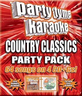 Party Tyme Country Classics Party Pack 64-song Party Pack