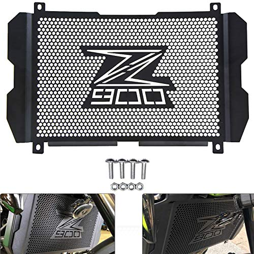 Parrilla de la parrilla del radiador de la motocicleta Parrilla protectora de la cubierta protectora para Kawasaki Z900 2017 2018