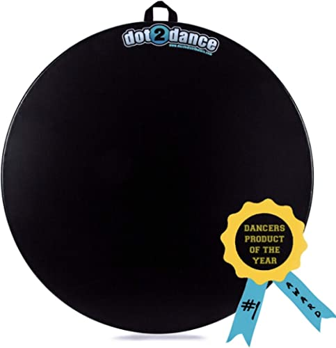dot2dance,Genuine Brand, Authentic Marley Portable Dance Floor, Multi-Use with Gym MAT Back, Turn Board,Tap Board