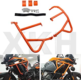 XKH- Compatible with KTM 1050 1090 1190 1290 Super ADV Upper Sides Crash Bar Frame Bumper Guard [B07KCR1XP6]