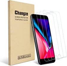 Changze Screen Protector for Iphone8 7 6s 6(4.7''inch) Premium Tempered Glass 3-Pack
