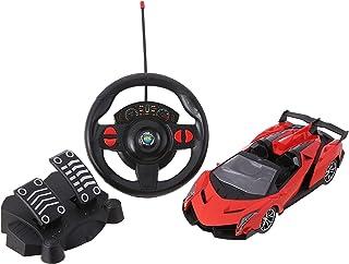 لعبة سيارة سباق بريموت كنترول من اكس اف - اسود واحمر