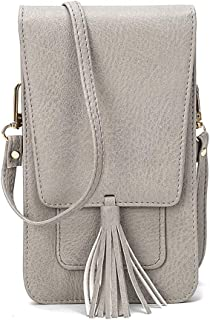 Small Cell Phone Purse Wallet Crossbody Bag with Card Slots Mini Shoulder Bag