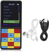 ASHATA MP3 MP4 Music Player,Portable Ultrathin 1.8 Inch Color Screen MP3 Mini Plug Card Video MP4 Bluetooth Music Player,S... photo