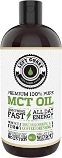 MCT Oil Keto derived only from Sustainable Coconuts (32oz). C8 and C10. Keto Diet | Paleo Friendly. Each Batch is Independ...