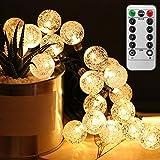 ANBURT LEDストリングライト LED電球*50個 5メートル 連結可能 クリスマス 結婚式 パーティー電飾 花火会