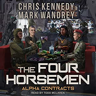 Alpha Contracts audiobook cover art