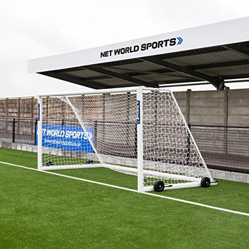 Forza Alu110 Soccer Goal (Choose Your Size 12ft x 4ft to 24ft x 8ft) Aluminum Soccer Goal Soccer Scenarios [Net World Sports] (3m x 2m Socketed (Futsal))