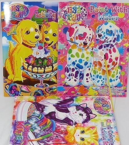 Los mejores precios y los estilos más frescos. Lisa Lisa Lisa Frank Coloring book, activity book, and water Coloring book set by Lisa Frank