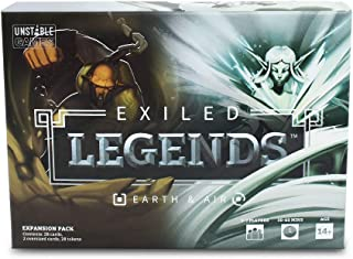 Exiled Legends: Earth & Air - From the Creators of Unstable Unicorns - Designed to be Added to your Exiled Legends Base Game