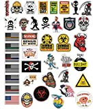 Best Hard Hat Stickers - 40 Funny Hard Hat Sticker,Tool Box, Hardhat, Laptop Review