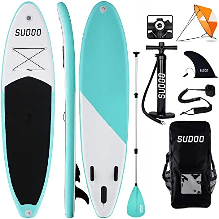 Paddel und Handpumpe f/ür alle Niveaus Leine streakboard Aufblasbares Stand Up Paddle Board Surf SUP Boards No Slip Deck 15 cm Dicke ISUP Boards mit kostenlosem SUP Zubeh/ör und Rucksack