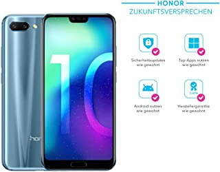 Honor 10 Dual Sim 64Gb Factory Unlocked 4G Smartphone International Version Glacier Grey