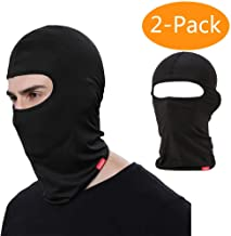 Breathable UV Protection Face Mask Hat Thermal Cold Weather Face Mask Scarf for Skiing Motorcycling Ski Mask Wind-Resistant Full Face Cover Cycling Black MoKo Balaclava Face Mask for Men Women