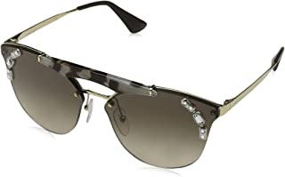 Prada Women's Ornate Aviator Sunglasses