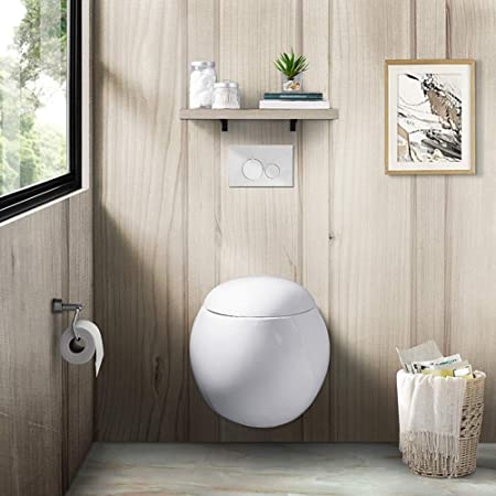 Swiss Madison SM-WT660 Plaisir Wall Hung Toilet