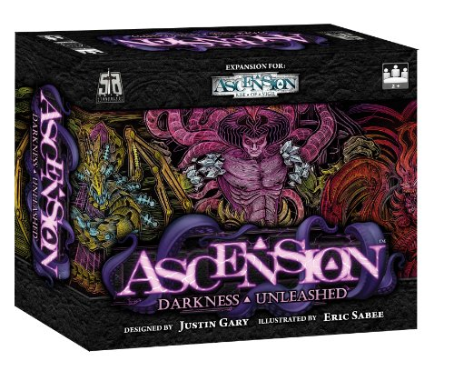 ASCENSION Deckbuilding Game - Darkness Unleashed Expansion (Playable as a stand-alone 2-player game)