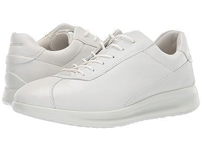 ECCO Aquet Lace (White Cow Leather) Women