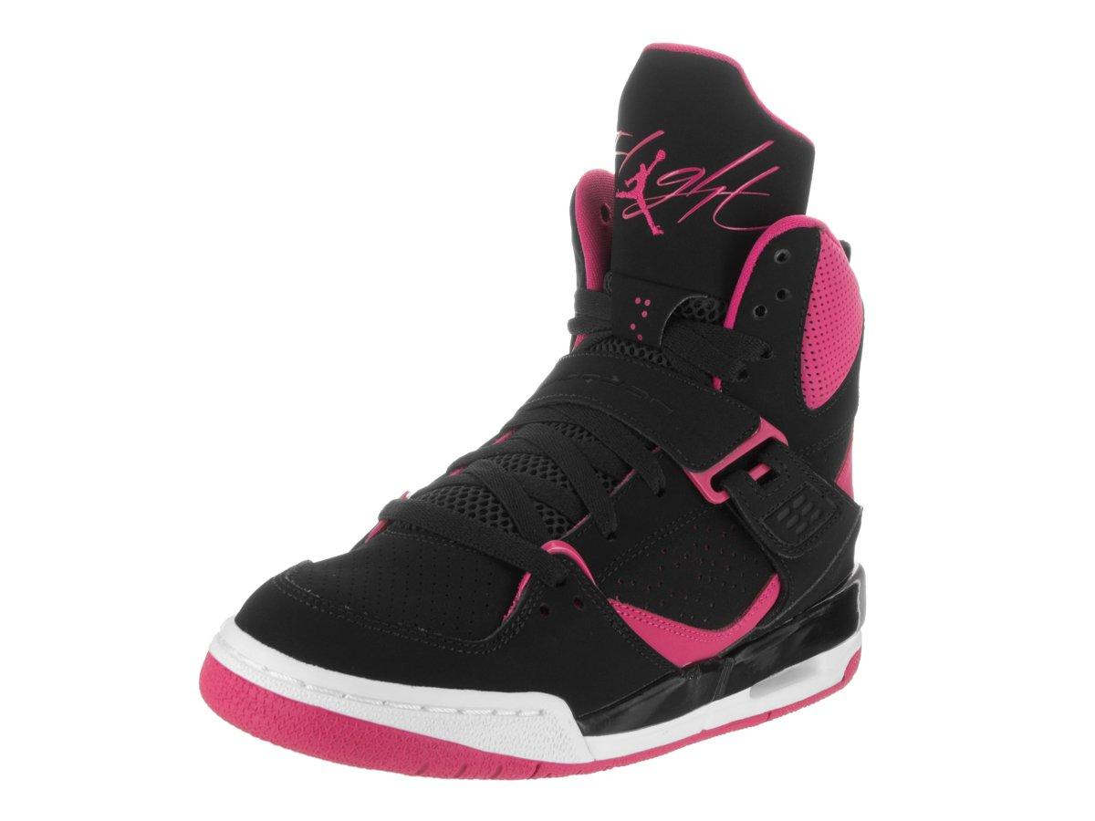 5.5 Wolf Grey//Vivid Pink//Black Jordan Flight Origin 3 Gg Big Kids Style