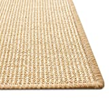 Floordirekt Sisal Fußmatte Teppich Vorleger Kratzteppich Katzenmöbel Kratzmatte Sisalmatte, widerstandsfähig & in vielen Farben und Größen erhältlich (60 x 80 cm, Natur) - 4