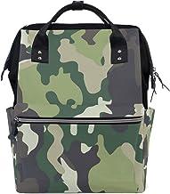 Montoj Camouflage-Rucksack aus Segeltuch, Camouflage-Muster