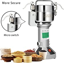 Insir Grain Grinder Mill Stainless Steel Electric High-speed Family Medicial Powder Machine Commercial Cereals Grain Mill Herb Grinder,Pulverizer 110v Gift for Mom, Wife (150G)