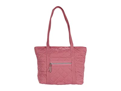 Vera Bradley Performance Twill Small Vera Tote (Strawberry Ice) Tote Handbags
