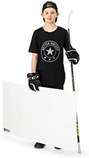 Better Hockey Extreme Shooting Pad - Size 24 inches x 48 inches - Simulates The Feel of Real Ice - Easy to Carry - Great f...