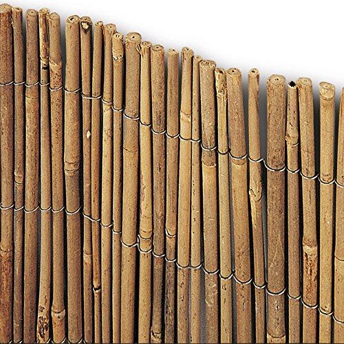 VERDELOOK Arella Time in cannette di Bamboo 2x3 m, bambù recinzioni Decorazioni