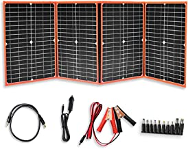 XINPUGUANG 80W 12V Foldable Solar Panel Kit Portable Battery Charger kit 5V USB DC for Cell Phone,car, ipad,Laptop,Portable Power Supply,Power Bank