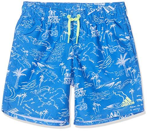 adidas Jungen Gr CL Badeshorts, True Blue/White, 158