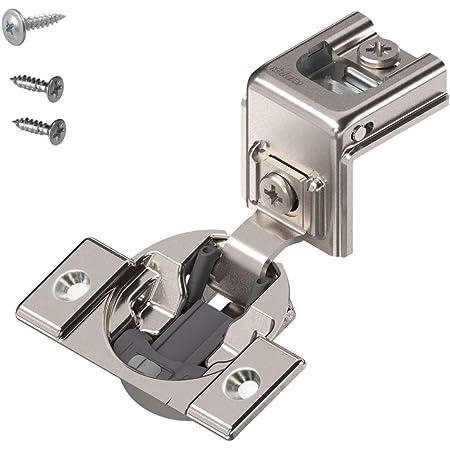 Nickel Plated Steel Blum 39C355B.20 1-1//4 Overlay Soft Close Cabinet Hinge
