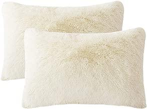 faux fur standard pillow case