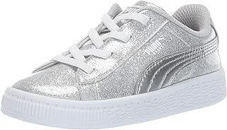 Girl's Basket Metallic Sneaker