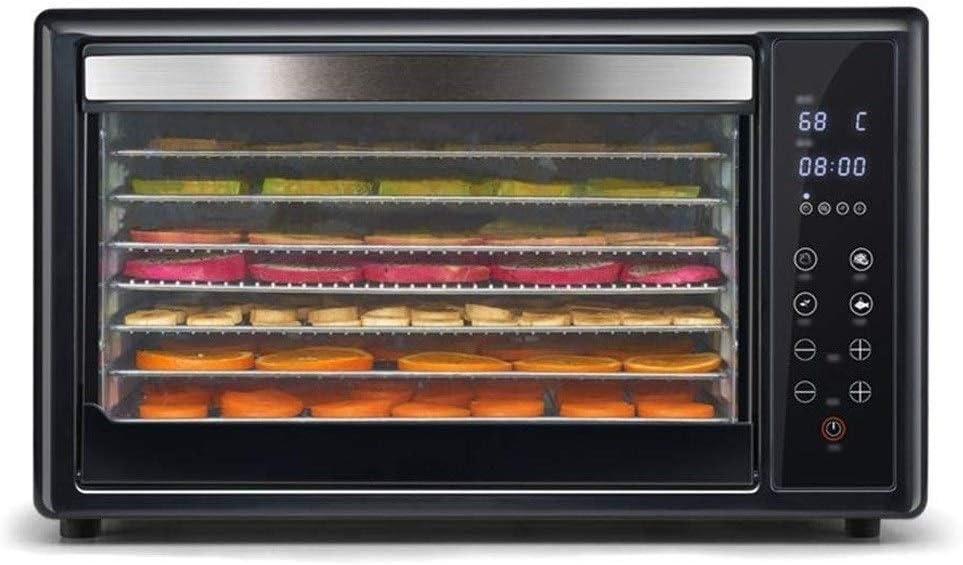 QPLKKMOI Food Dehydrator Cheap 8 Tier Time sale Control T Touch Shelves Smart