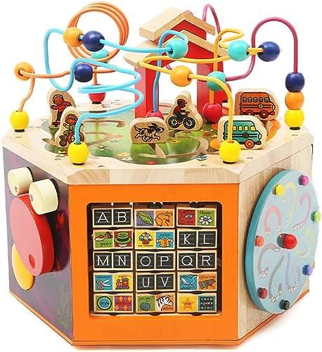 LIUFS-SPIELZEUG Kinderspielzeug Puzzle Entwicklung M er Und Frauen Früherziehung Bausteine  erle Box ( Größe   L )