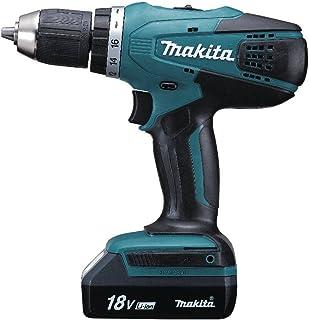 Makita Y/DF457DWE DF457DWE elverktyg, 750 W, 18 V, svart, blå