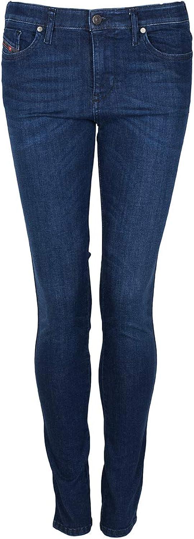 Diesel Womens Stretch Jeans Skinzee 0843I Skinny Leg darkbluee