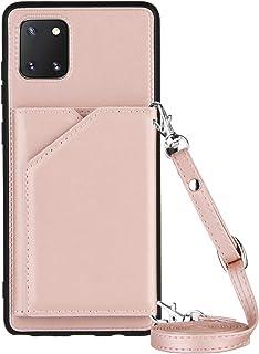 Custodia a portafoglio per Samsung Galaxy M60S / A81 / Note 10 Lite (oro rosa)