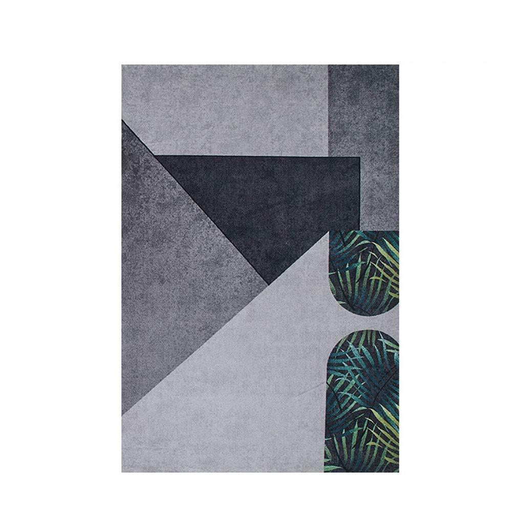 Xiix Rugs - Alfombra moderna y minimalista rectangular para el hogar, cómoda alfombra de nailon suave y cómoda, para dormitorio, sala de estar, de algodón y lino antideslizante, 160x240cm: Amazon.es: Hogar
