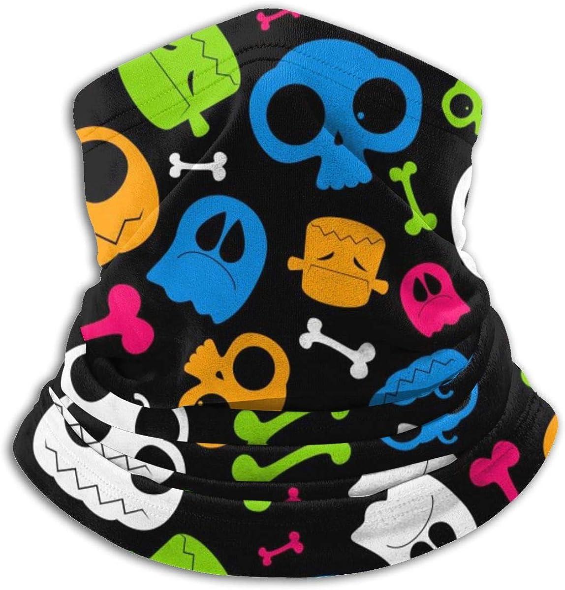 SITU Luxury Xmas Patchwork Pattern Headwear Neck Gaiter Scarf Face Cover