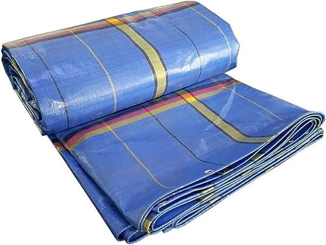 PBZY Tissu imperméable à la Pluie Toile de Tente extérieure bache de Tissu imperméable Parasol de Prougeection Solaire bache de Pluie 250g   m2 (± 30g), épaisseur 0.45mm   (± 0.03mm) (12 Tailles)
