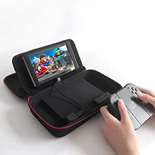 Achoro Portable Power Bank Storage Case Compatible with Nintendo Switch - Premium Quality Protective Hard Case with Power Bank
